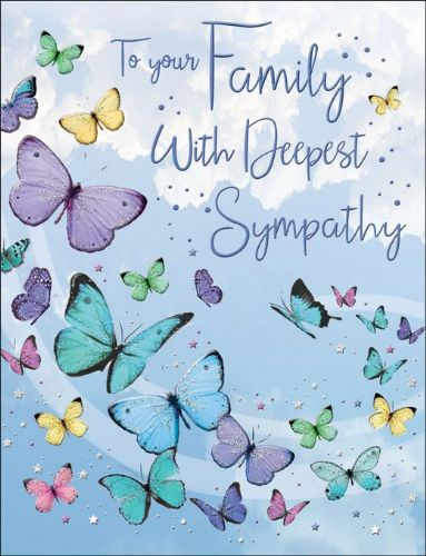 To Your Family With Deepest Sympathy